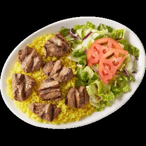 Beef Shish Kabob Entree