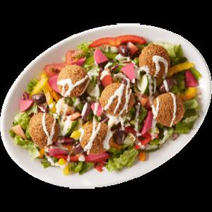 Gourmet Falafel Salad