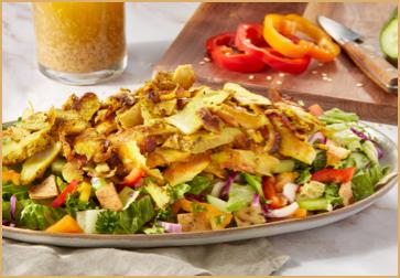 Pita Inn chicken fatoush salad