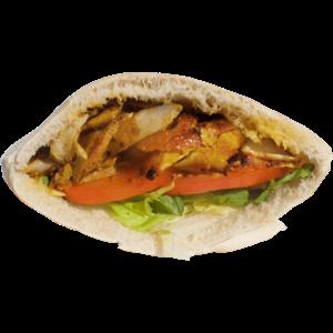 Spicy Chicken Shawarma Sandwich