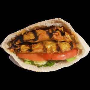 spicy chicken tender sandwich