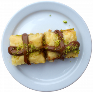 Nutella Baklawa